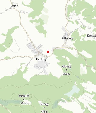Map / Fáradt Vándor Panzió