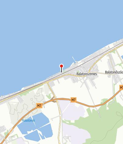 Map / Kerékpár Pont (Lokomotiv Apartmanok)