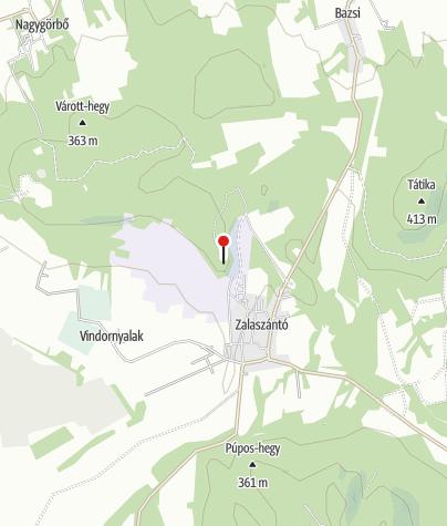 Térkép / Zalaszántói buddhista sztúpa