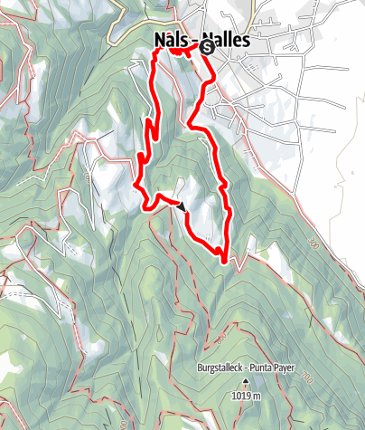 Map / From Nalles to the Bittnerhof