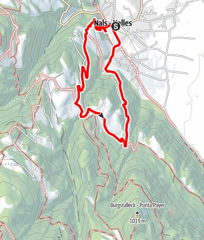 Karte / Von Nals zum Bittnerhof