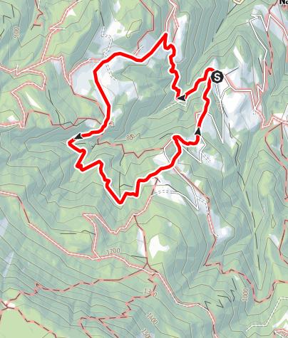 Karte / Rundwanderung Untersirmian, Grissian, Obersirmian, Untersirmian
