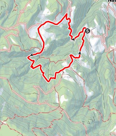 Mapa / Rundwanderung Untersirmian, Grissian, Obersirmian, Untersirmian