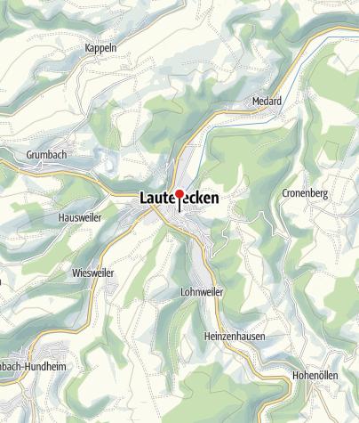 Karte / Schloss Veldenz