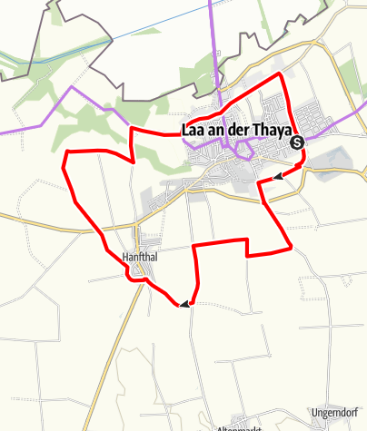 Map / Familienroute in Laa/Thaya