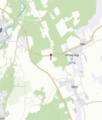 Mapa / Kalapos-kút