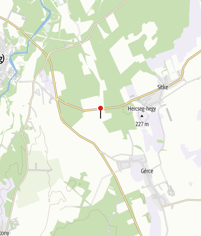 Térkép / Kissitkei fogolytábor emlékhely