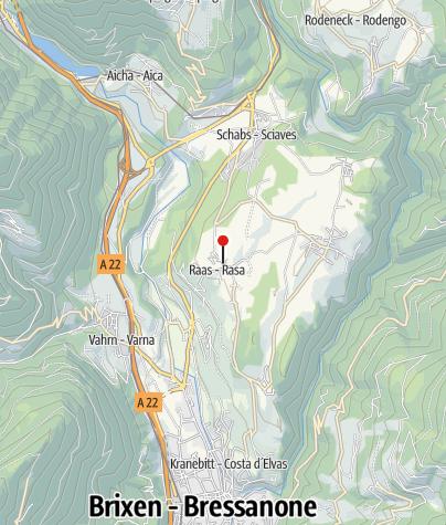 Mappa / Negozietto maso, Häuslerhof