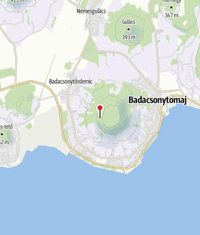 Térkép / Tördemici-kilátóhely, Badacsony