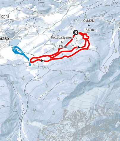 Karte / Tarasp: Lai Nair
