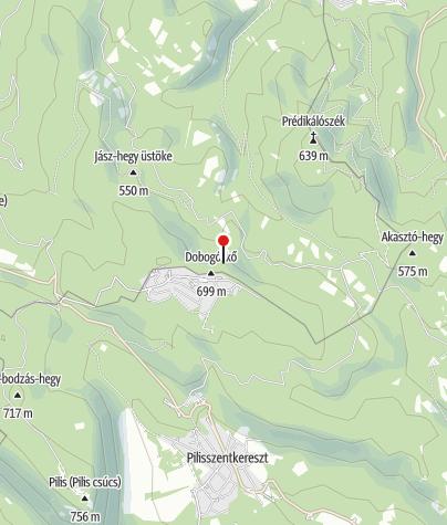 Térkép / Thirring-sziklák