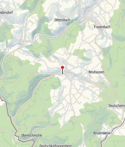 Karte / Touristinformation Seiffen
