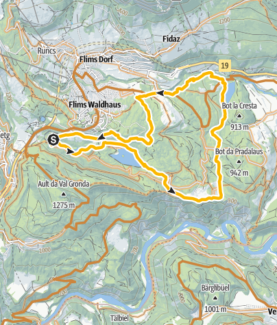 Karte / Caumasee