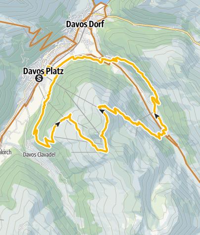 Map / Jakobshorn-Dischma (E-MTB tauglich)