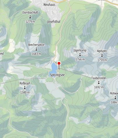 Karte / Taubenstein-Kabinenbahn