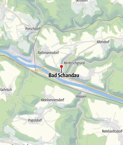 Karte / Elbe Radweg