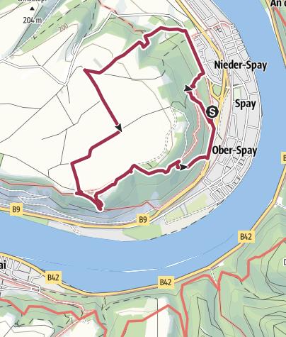 Karte / Traumpfädchen Spayer BlickinsTal
