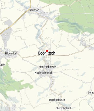 Karte / Bobritzsch-Hilbersdorf
