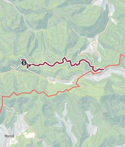 Karte / Zur Kälbelescheuer