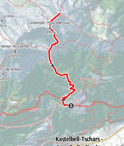 Mapa / Trumser Spitz