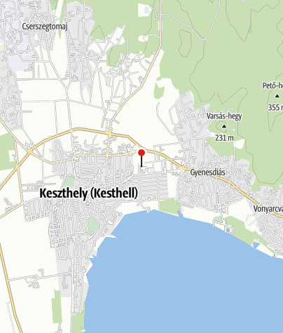 Mapa / Intersport Keszthely