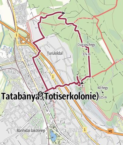 Térkép / A Turul szárnyai alatt