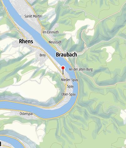 Karte / Haltestelle Spay In der Flogt