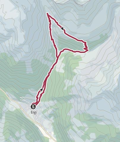 Karte / Rundwanderung Mülibachtal