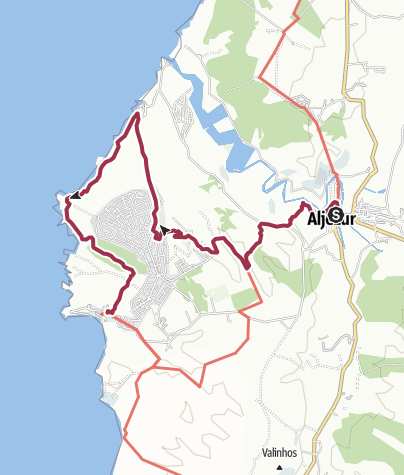 Map / Aljezur to Arrifana