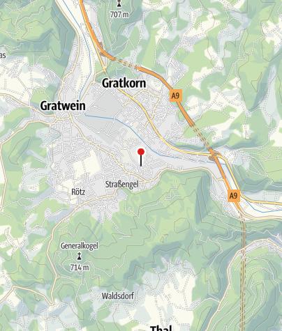 Karte / Raddörfl Judendorf-Strassengel