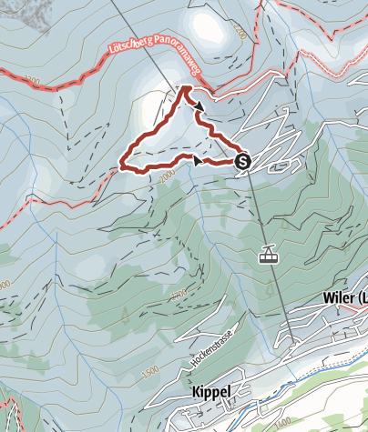 Map / Alpine adventure trail