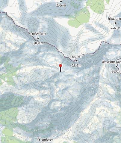 Karte / Carschinahütte SAC