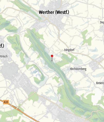 Karte / Wirtshaus Bergfrieden