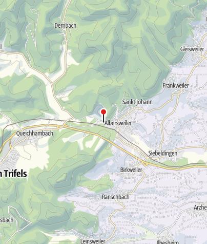 """Karte / Gasthaus/Weinstube """"Zum Hirsch"""""""