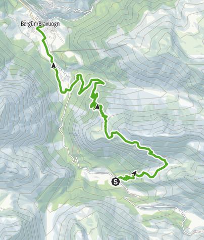 Map / Muot Surrent