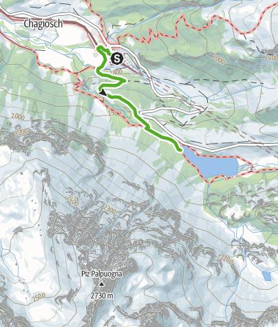 Map / Preda - Lai da Palpuogna