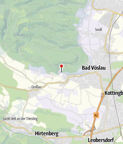 Karte / Wanderarena Bad Vöslau - Steinbruchgasse