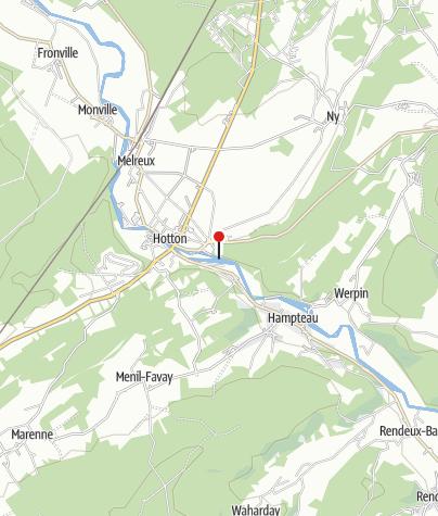 Kaart / Rochers de Renissart (Hotton)