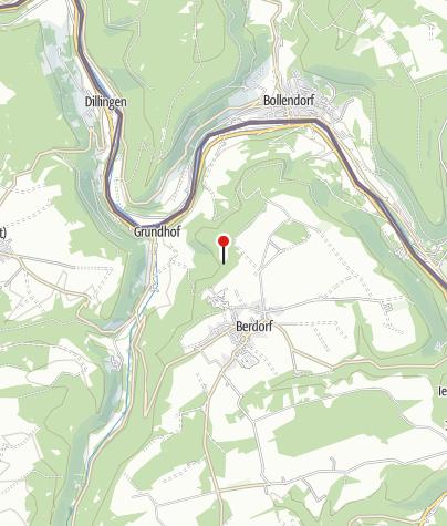 Kaart / Berdorf (Rochers du Wanterbach)