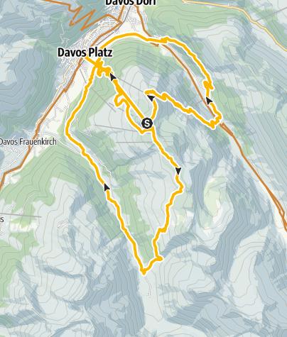 Map / Jakobshorn-Trilogie (E-MTB tauglich)