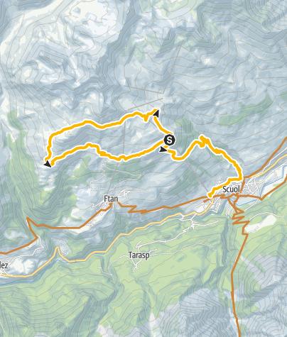 Map / Alp Clünas