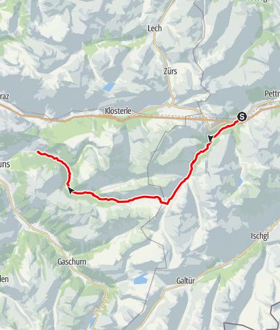 Karte / T33 Trail 33 km