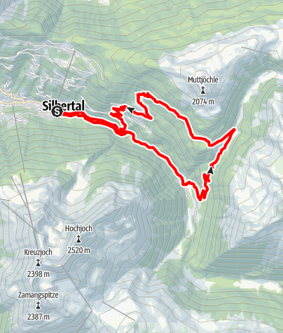 Karte / Panoramatrail 17 km