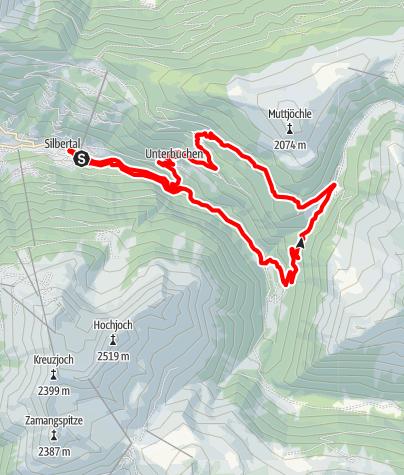 Map / Panoramatrail 17 km