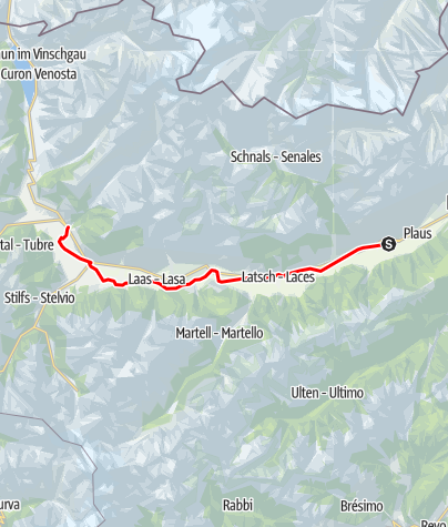 Karte / Vinschgau Panorama Tour