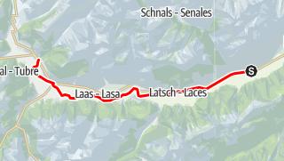 Map / Val Venosta Panorama Tour