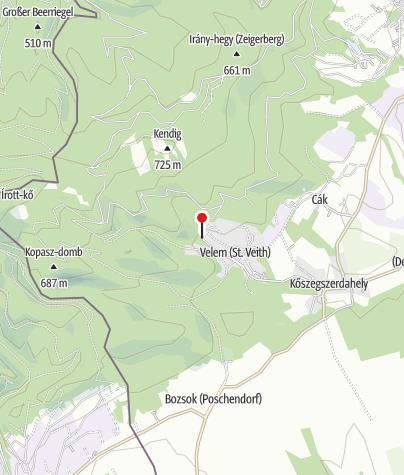 Map / Régészeti témapark