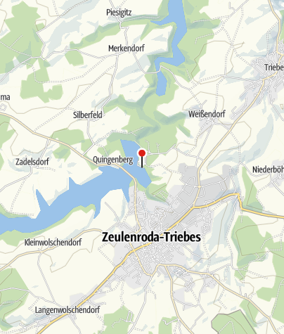 Karte / Wassersportschule Thüringen am Strandbad Zeulenroda