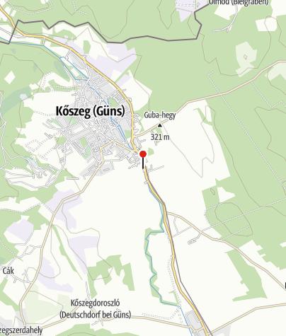 Térkép / Alpokalja Panzió
