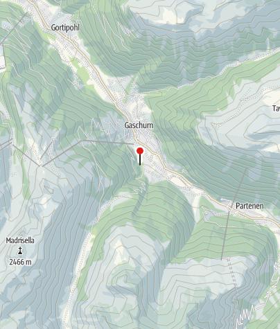 Karte / Ferienhaus Alpenstern